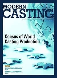 Modern Casting Magazine with Respirable Dust Silica Root Causes Article