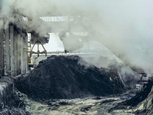 Industrial Hygiene - Dusty Construction Site